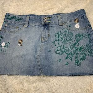 Vanilla Star Denim Skirt